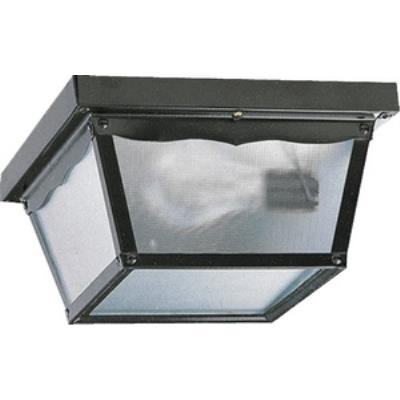 Quorum Lighting 3080-9-15 Two Light Outdoor Cage Flush Mount