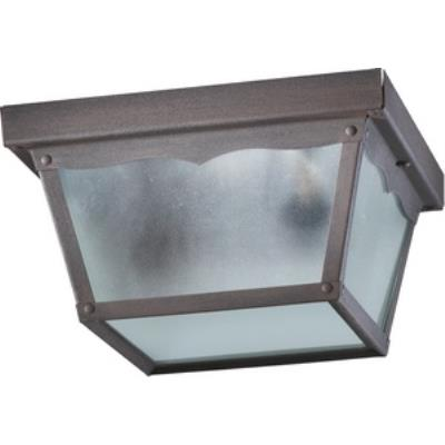 Quorum Lighting 3080-9-5 Two Light Outdoor Cage Flush Mount