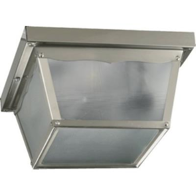 Quorum Lighting 3080-9-65 Two Light Outdoor Cage Flush Mount