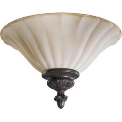 Quorum Lighting 3095-13-38 Coronado - Two Light Flush Mount