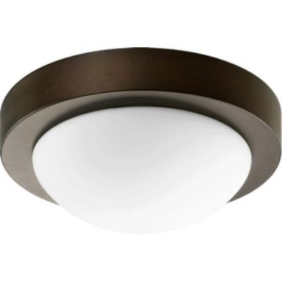 Quorum Lighting 3505-9-886 One Light Flush Mount