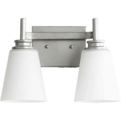 Quorum Lighting 5002-2-64 Friedman - Two Light Bath Bar