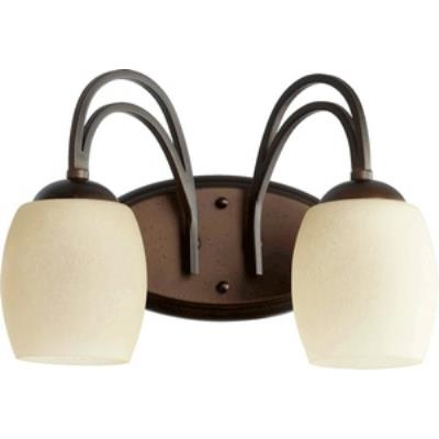 Quorum Lighting 5012-2-86 Willingham - Two Light Bath Bar