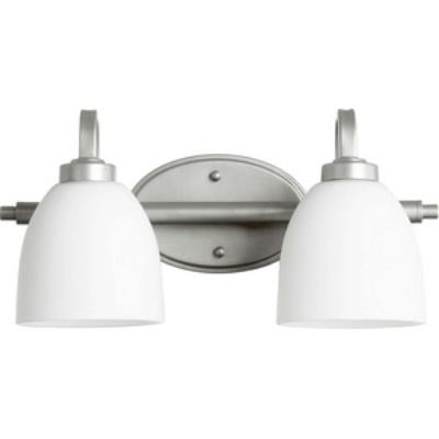Quorum Lighting 5060-2-64 Reyes - Two Light Bath Bar