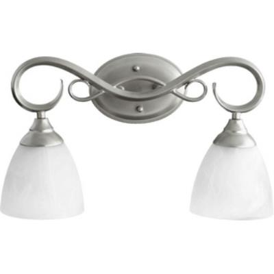 Quorum Lighting 5108-2-64 Powell - Two Light Bath Bar