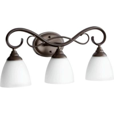 Quorum Lighting 5108-3-86 Powell - Three Light Bath Bar