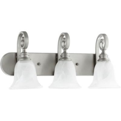 Quorum Lighting 5154-3-64 Bryant - Three Light Bath Bar