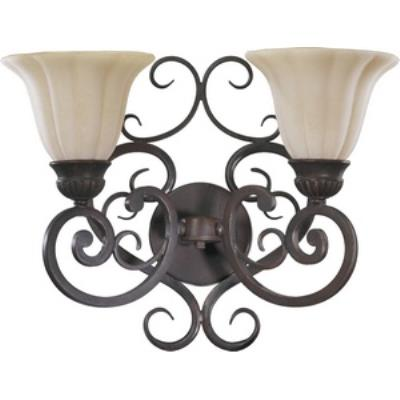 Quorum Lighting 5195-2-38 Coronado - Two Light Wall Bracket