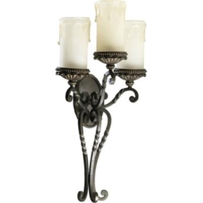 Quorum Lighting 5286-3-86 Alameda - Three Light Wall Mount