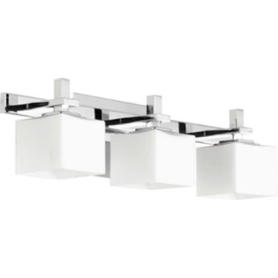 Quorum Lighting 5365-3-14 Three Light Square Bath Bar