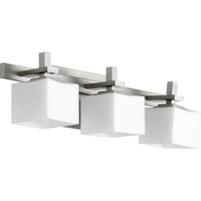 Quorum Lighting 5365-3-65 Three Light Square Bath Bar