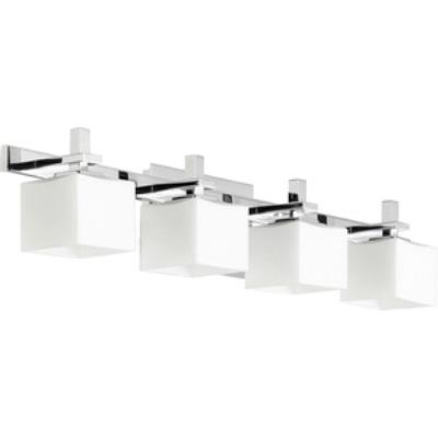 Quorum Lighting 5365-4-14 Four Light Square Bath Bar