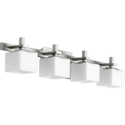 Quorum Lighting 5365-4-65 Four Light Square Bath Bar