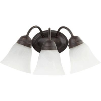 Quorum Lighting 5403-3-44 Three Light Wall Mount