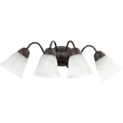Quorum Lighting 5403-4-44 Four Light Wall Mount
