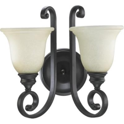 Quorum Lighting 5454-2-86 Bryant - Two Light Wall Mount
