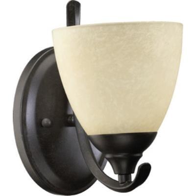 Quorum Lighting 5508-1-44 Powell - One Light Wall Bracket