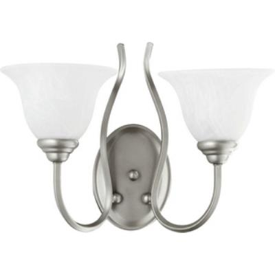 Quorum Lighting 5510-2-64 Spencer - Two Light Wall Mount