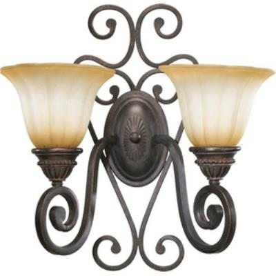 Quorum Lighting 5526-2-44 Summerset - Two Light Wall Bracket