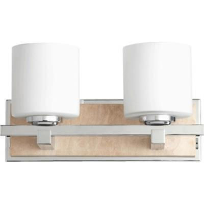 Quorum Lighting 5670-2-14 Travertine - Two Light Wall Mount