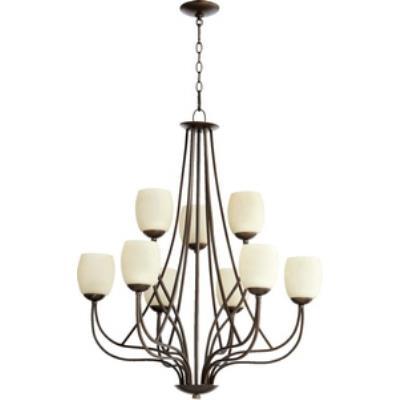 Quorum Lighting 6012-9-86 Willingham - Nine Light Chandelier