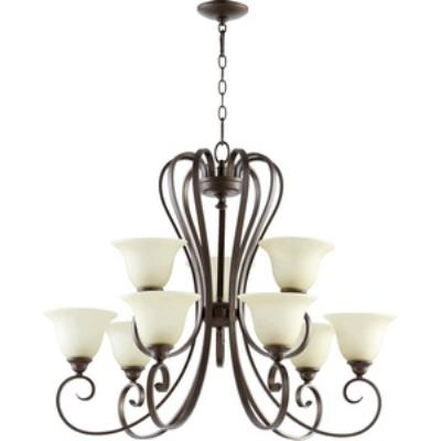 Quorum Lighting 6053-9-86 Celesta - Nine Light Chandelier