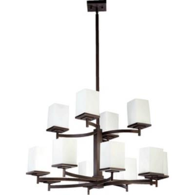 Quorum Lighting 6084-12-86 Delta - Twelve Light Chandelier
