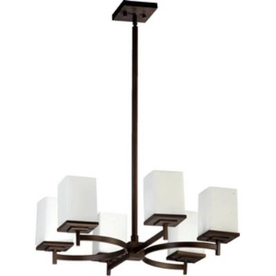 Quorum Lighting 6084-6-86 Delta - Six Light Chandelier