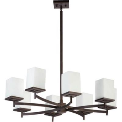 Quorum Lighting 6084-8-86 Delta - Eight Light Chandelier
