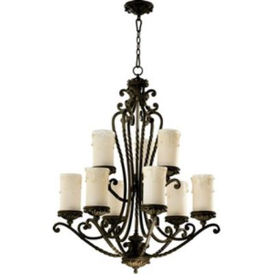 Quorum Lighting 6086-9-86 Alameda - Nine Light Chandelier