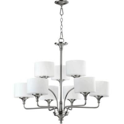 Quorum Lighting 6090-9-65 Rockwood - Nine Light Chandelier