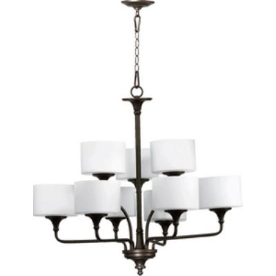 Quorum Lighting 6090-9-86 Rockwood - Nine Light Chandelier