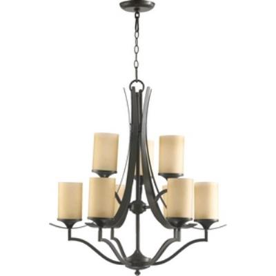 Quorum Lighting 6096-9-86 Atwood - Nine Light Chandelier