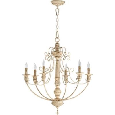 Quorum Lighting 6106-6-70 Salento Persian - Six Light Chandelier