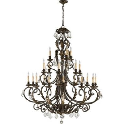 Quorum Lighting 6157-21-44 Rio Salado - Twenty - One Light Chandelier