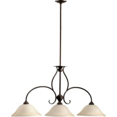 Quorum Lighting 6510-3-86 Spencer - Three Light Island