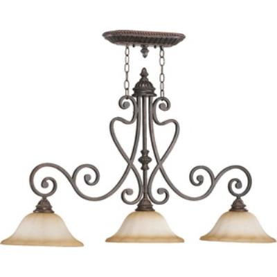 Quorum Lighting 6526-3-44 Summerset - Three Light Island