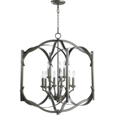 Quorum Lighting 6796-9-86 Atwood - Nine Light Foyer
