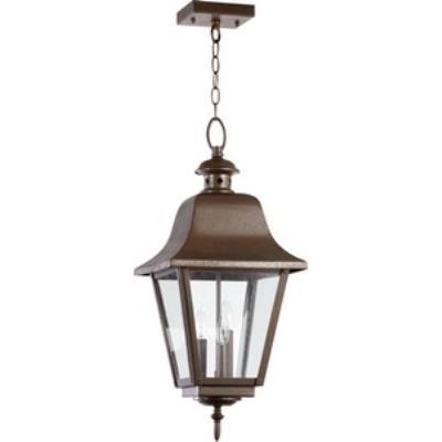 Quorum Lighting 7031-3-86 Bishop - Three Light Outdoor Pendant