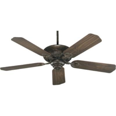 "Quorum Lighting 78525-88 Chateaux - 52"" Ceiling Fan"