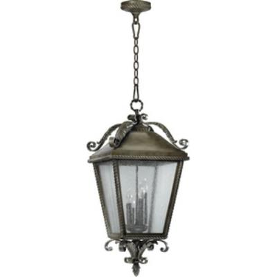 Quorum Lighting 7911-4-43 Rochelle - Four Light Pendant