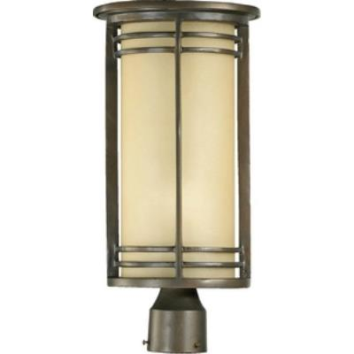 Quorum Lighting 7918-9-86 Larson - One Light Outdoor Post Lantern