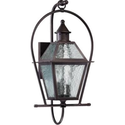 Quorum Lighting 7919-3-86 French Quarter - Three Light Outdoor Wall Lantern