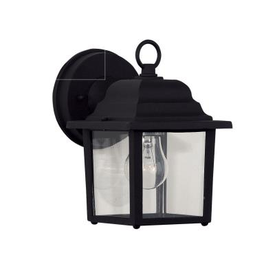 Savoy House 07067-BLK One Light Outdoor Wall Lantern