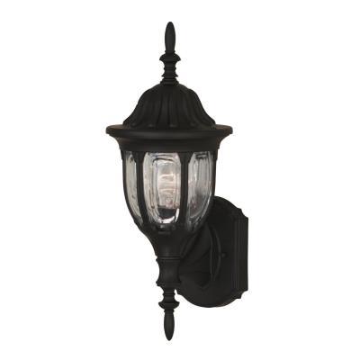 Savoy House 07068-BLK One Light Outdoor Wall Lantern