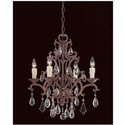 Savoy House 1-1400-4-56 Four Light Chandelier