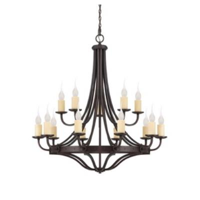 Savoy House 1-2014-15-05 Elba - Fifteen Light Chandelier