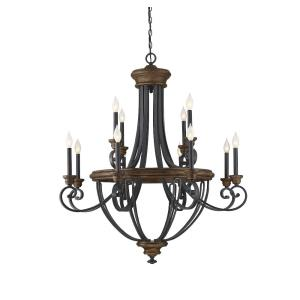 Wickham - Twelve Light 2-Tier Chandelier