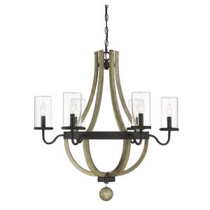 Eden - Six Light Outdoor Chandelier