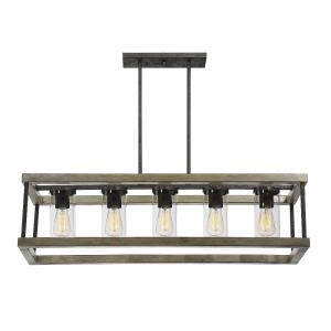 Eden - Five Light Outdoor Chandelier